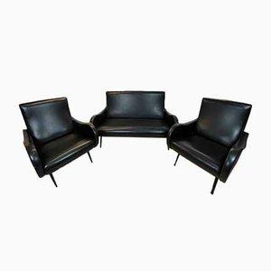 Sofa & Stühle von Marco Zanuso für Arflex, 1960er, 3er Set