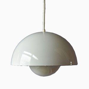 Mid-Century Flowerpot Ceiling Lamp by Verner Panton for Louis Poulsen