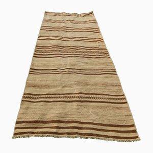 Turkish Striped Kilim Rug, 1970s