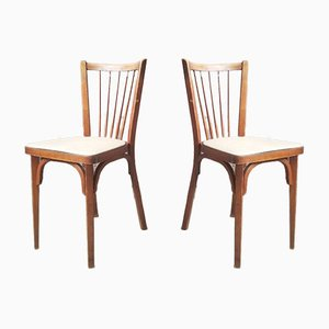 Bistro Chairs from Baumann, 1950s, Set of 2