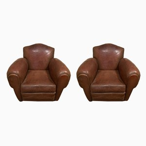 Model Elephant Lounge Chairs, 1930s, Set of 2