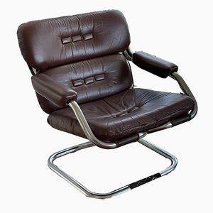 Vintage Tubular Easy Chair
