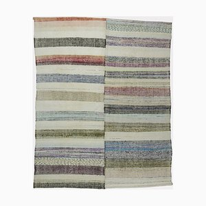 Vintage Turkish Flatweave Carpet