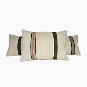 Vintage Turkish Kilim Pillow Cover from Vintage Pillow Store Contemporary, Set of 2