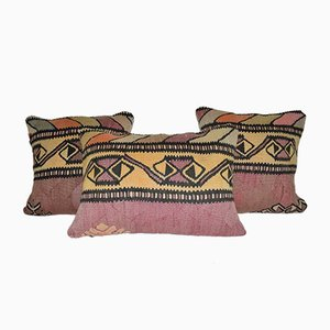Turkish Kilim Pillow Cover from Vintage Pillow Store Contemporary, Set of 3