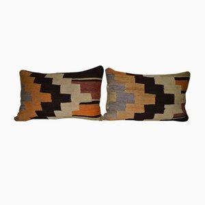 Türkischer Vintage Kilim Kissenbezug von Vintage Pillow Store Contemporary, 2er Set