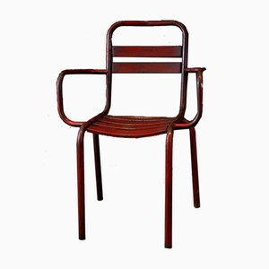 T3 Armchairs from Tolix, 1930s, Set of 4
