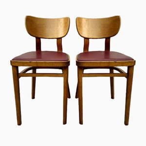 Mid-Century Kitchen Dining Chairs, Set of 2