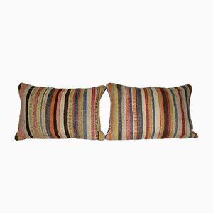 Türkischer Vintage Teppich Kissenbezüge von Vintage Pillow Store Contemporary, 2er Set