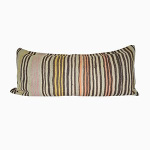 Vintage Striped Turkish Kilim Pillow Cover from Vintage Pillow Store Contemporary