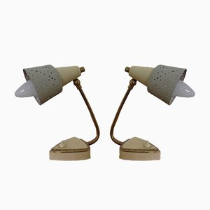 Anpassbare italienische Mid-Century Tischlampen, 1960er, 2er Set