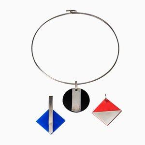 Halskette mit 3 Hängelampen von Sigurd Persson, Schweden, 1990er
