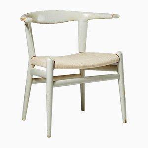Modell Jh 518 Bull Chair von Hans Wegner für Johannes Hansen, Dänemark, 1961