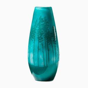 Skogsbruk, Gryning I Vase von Sissi Westerberg für Reijmyre, Sweden, 2016