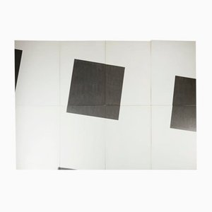 Endless Wall Painted Panels by Einar Höste, Sweden, 1970s, Set of 456