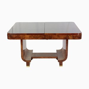 Art Deco Extendable Walnut Table