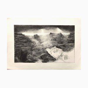 Piero Cesaroni - Spiritualität in San Nico - Original Radierung - 2007