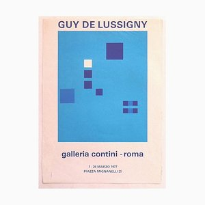 Guy De Lussigny - Guy De Lussigny - Exhibition Poster - Original Offset Print - 1977