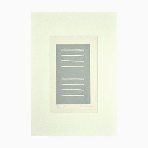Unknown - Composition - Original Radierung auf Papier - 1970