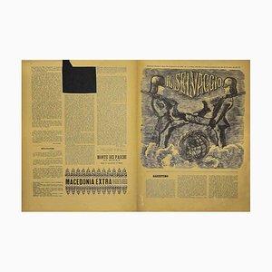 Mino Maccari - the Wild # 1/2 - Art Magazine with Engravings - 1936