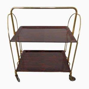 Vintage Rosewood Tea Cart from Gerlinol, 1970s