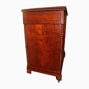 Troubadour Style Mahogany Cabinet