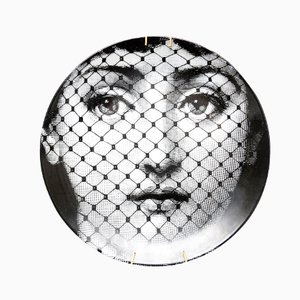 Porcelain Plate by Piero Fornasetti