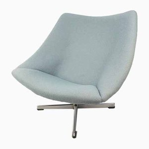 Oyster Chair with Cross Base by Pierre Paulin for Artifort, 1960s