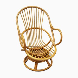 Vintage Bamboo Armchair