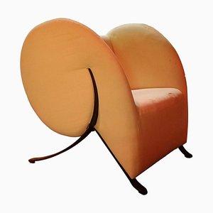 Model Virgola Lounge Chair by Yaacov Kaufman for Arflex, 1990s