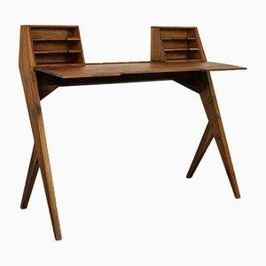 Teak Schreibtisch, 1950er