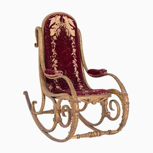 Rocking Chair by Michael Thonet for Anton Fix, 1850s