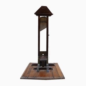 Early 20th-century French Guillotine Cigar Cutter