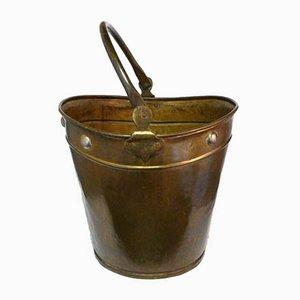 Art Deco Metal Water Bucket, 1920s
