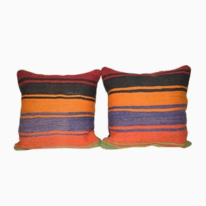 Handmade Turkish Kilim Pillow Covers from Vintage Pillow Store Contemporary, Set of 2