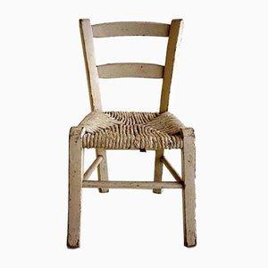 Straw Childrens Chair, 1920s