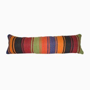 Gestreifter Türkischer Kilim Kissenbezug von Vintage Pillow Store Contemporary