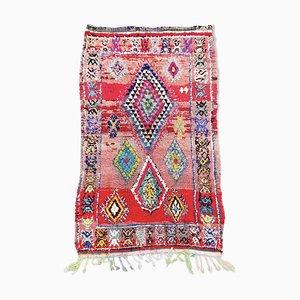 Berber Moroccan Boujad Carpet, 1990s