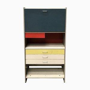 Mid-Century Desk Storage Cabinet 5600 with Folding Desktop by Cordemeyer for Gipsen