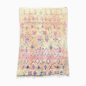 Moroccan Boujad Wool Carpet, 1980s