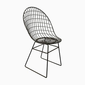 Black Wire Dining Chair, 1960s
