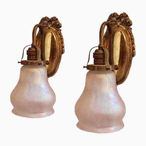 Antique Sconces, Set of 2