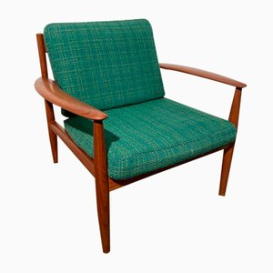 Mid-Century Lounge Chair by Grete Jalk for France & Søn / France & Daverkosen