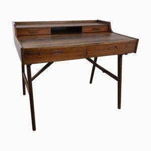 Mid-Century Rosewood Desk by Arne Wahl Iversen for Vinde Møbelfabrik