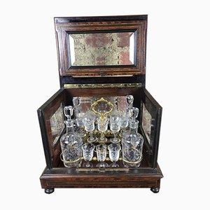 Napoleon III Style Liquor Cellar Set
