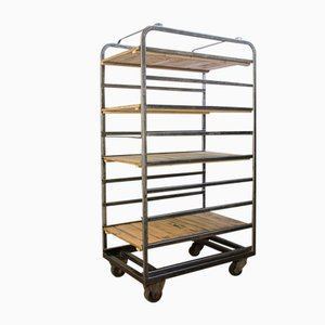 Vintage Industrial Bakery Rack / Cart