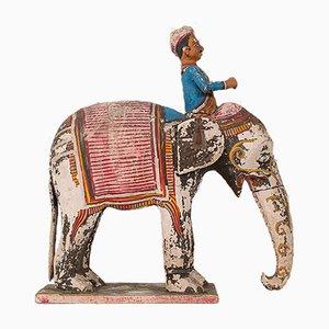 Antique Decorative Elephant and Rider