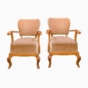 Armchairs 1950s, Set of 2