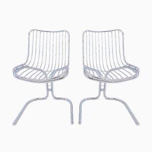 Chaises de Salon par Gastone Rinaldi pour Rima, 1970s, Set de 2