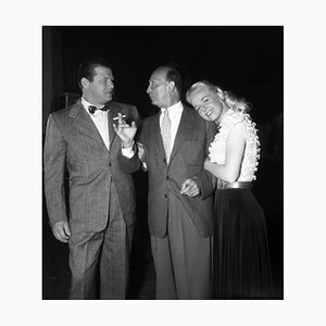 Carson, Curtiz & Day Archival Pigment Print Framed in White by Everett Collection